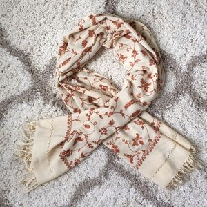 Accessories - Indian Hand Embroidered Scarf